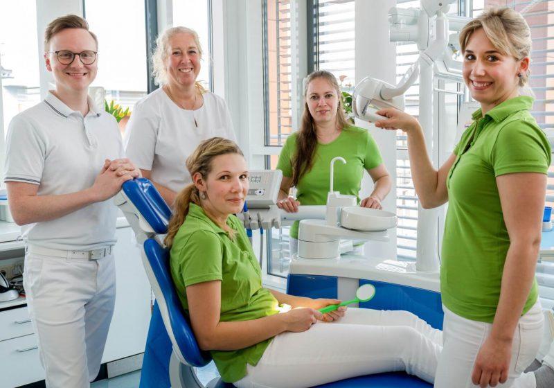 Zahnarzt Dresden Richard Vetters - Praxisteam